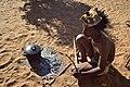 Arri Raats, Kalahari Khomani San Bushman, Boesmansrus camp, Northern Cape, South Africa (20351511249).jpg