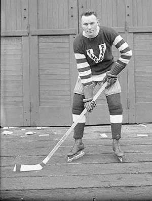 Art Duncan - Art Duncan with the Vancouver Millionaires, 1918–19