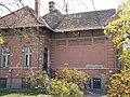 Art Nouveau Villa with vine leaf decoration. Monument ID 8491 - Budapest District 22. Budafok. Városháza Square 13..JPG