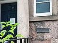 Arthur Conan Doyle plaque outside 23 George Square, Edinburgh.jpg