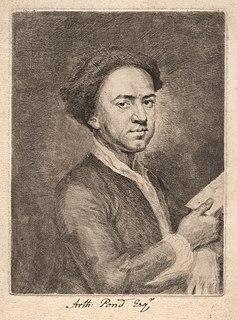 Arthur Pond English painter and engraver