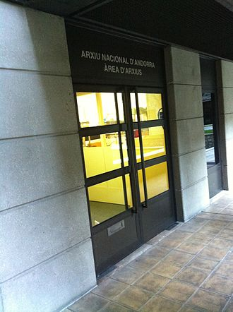 National Archives of Andorra - National Archives of Andorra