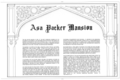 Asa Packer Mansion, Packer Hill, Jim Thorpe, Carbon County, PA HABS PA,13-JIMTH,7- (sheet 1 of 15).png