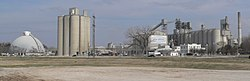 Ash Grove cement plant in Louisville