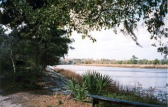 Ashley River (South Carolina) - The Ashley River, as seen from Drayton Hall.