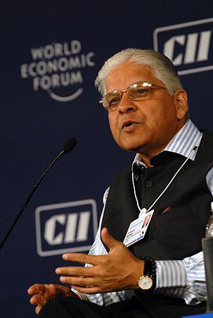 Ashwani Kumar - Image: Ashwani Kumar at the India Economic Summit 2008