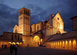 English: Assisi,Basilica di San Francesco