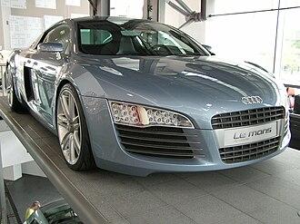 Audi R8 - Audi Le Mans quattro concept