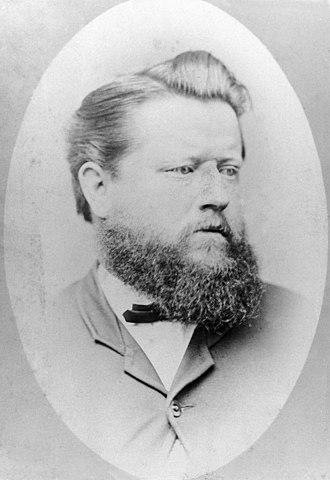 Augustus Poeppel - Augustus Poeppel, circa 1880