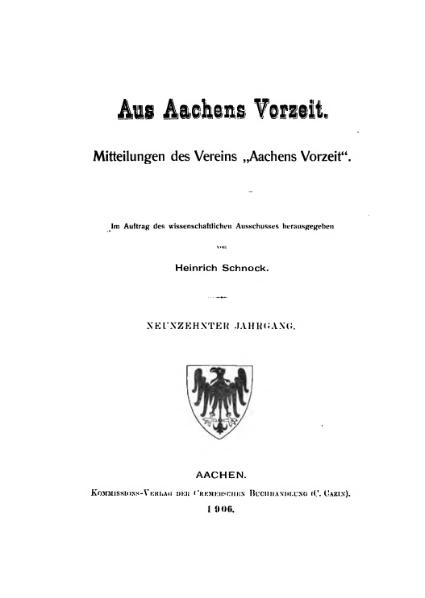 File:Aus Aachens Vorzeit 19 Jg 1906.djvu