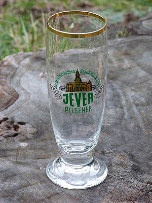 Jever (beer) - Jever beer glass
