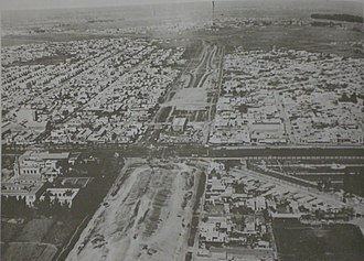 Avenida General Paz - The ring road under construction c.1940.