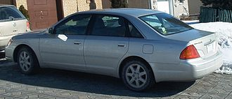 Toyota Avalon - 2000–2002 Toyota Avalon (Canada)