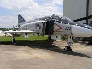 Aviation Museum of Kentucky - Image: Aviation Museum Phantom F 4