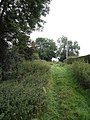Awkward footpath, Tintinhull - geograph.org.uk - 543999.jpg