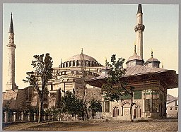 Ayasofya Mosque and Ahmed III fountain Istanbul