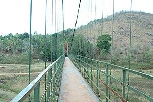 Ayyappancoil - Ayyappankovil suspension bridge