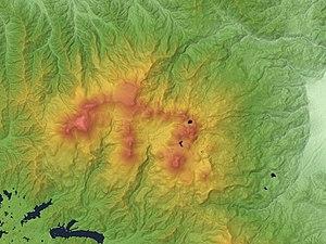 Mount Azuma-kofuji - Azuma volcanic group