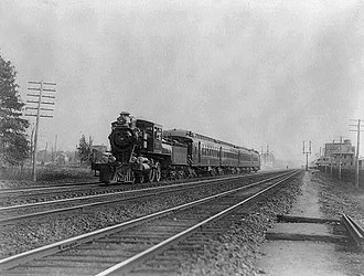 Royal Blue (train) - The Royal Limited in 1898, one of the B&O's famed Royal Blue trains