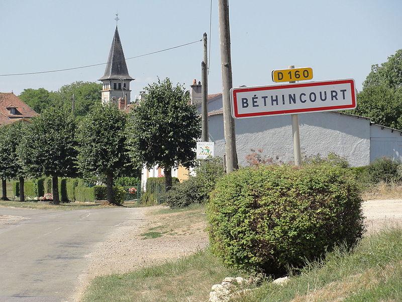 Béthincourt (Meuse) entrée