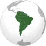 countries in South America with Burger King locations