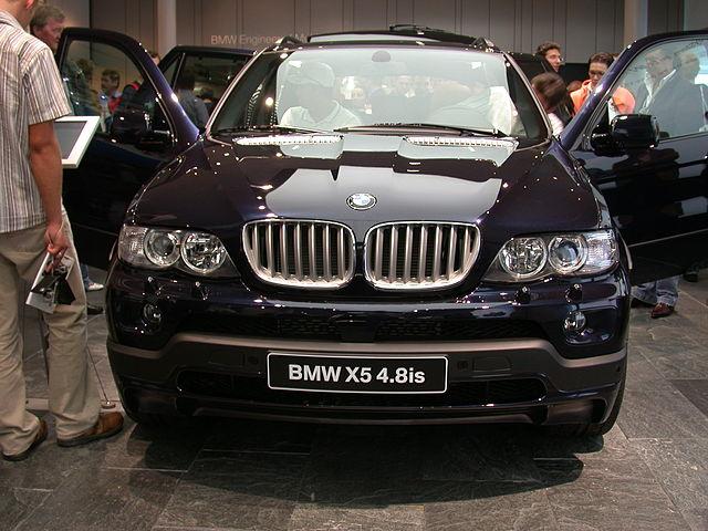 BMW X5 4.8is IAA 2005