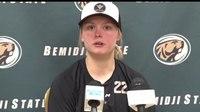 File:BSU Women's Hockey Prepares For Bulldogs In Postseason Play.webm