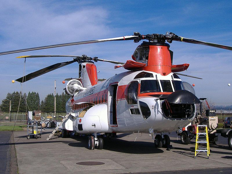 British International Helicopters 소속 보잉 234LR 치누크(Chinook) 추락