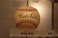 Babe Ruth signed baseball.JPG