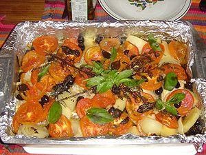 Bacalhau - Traditional bacalhau dish