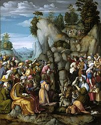 Francesco Bacchiacca: Moses Striking the Rock