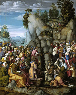 Bacchiacca - Moses Striking the Rock