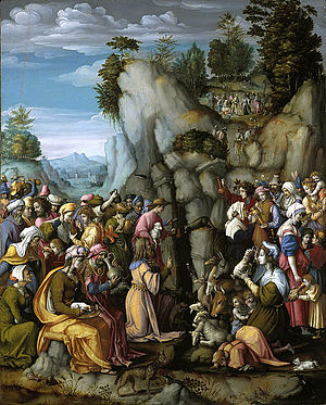Francesco Bacchiacca - Moses Striking the Rock