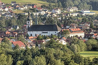 Bad Soden-Salmünster - Salmünster with Saints Peter and Paul Church