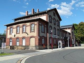 Freital-Hainsberg station railway station in Freital, Germany