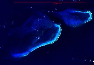 Bajo Nuevo Bank - NASA image of Bajo Nuevo.