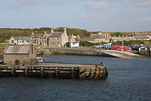 Balfour, Orkney - Image: Balfour Harbour, Shapinsay geograph.org.uk 1320860