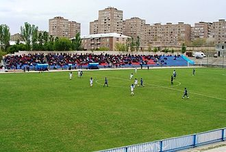 2008 Armenian Premier League - Banants vs Pyunik (0-1), matchday 4 fixture (19 April 2008), at Banants Stadium