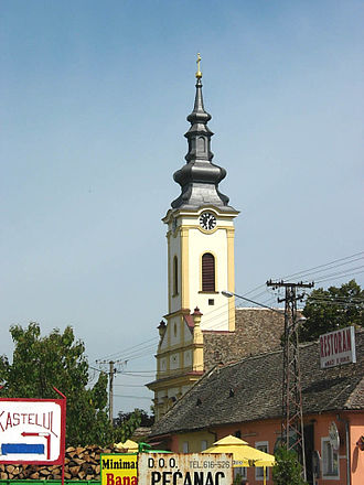 Banatsko Novo Selo - Image: Banatsko Novo Selo, Romanian Orthodox church