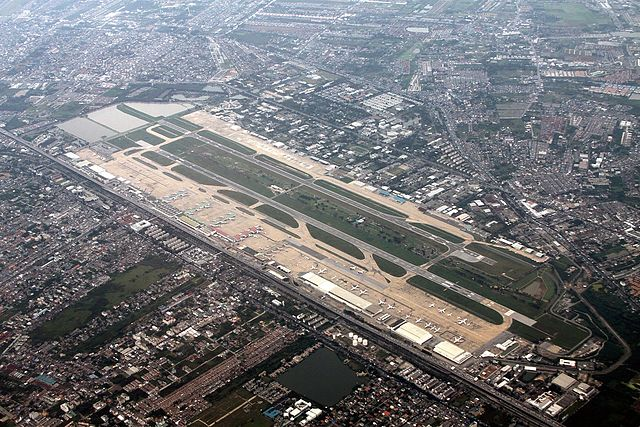 Don Muang International Airport, Bangkok - from Wikimedia Commons