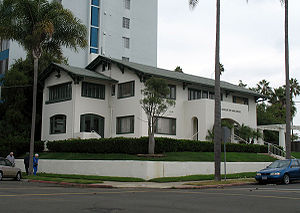 Third Avenue, Bankers Hill, San Diego, California