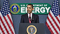 Barack Obama speaks at Dept. of Energy 2-5-09.jpg