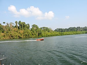 Baratang Island - Image: Baratang Island near Middle Strait entry point, Andaman Islands, India