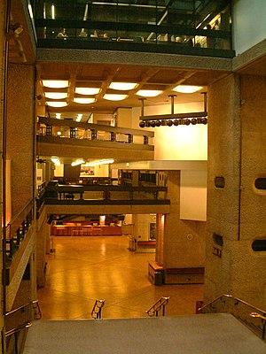 English: Barbican Arts Centre interior large photo