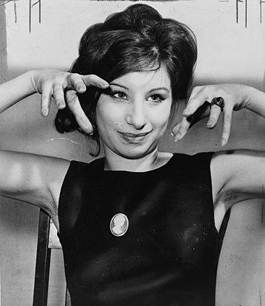 バーブラ・ストライサンド(Barbra Streisand)Wikipediaより。