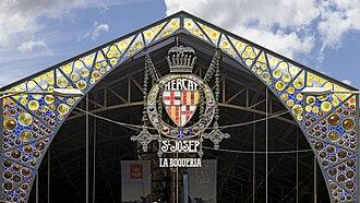 La Boqueria - Entrance to La Boqueria