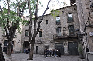 Barcelona Shoe Museum Shoemakers guild house.JPG