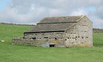 Arkengarthdale - Image: Barn Punchard