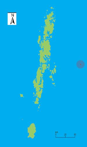 Barren Island (Andaman Islands) - Image: Barren I locale
