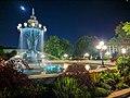 Bartholdi Park at night.jpg